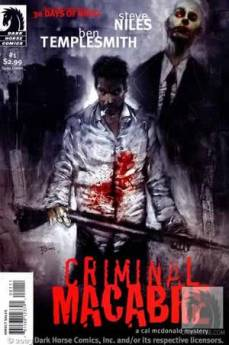 Criminal Macabre #1 cover